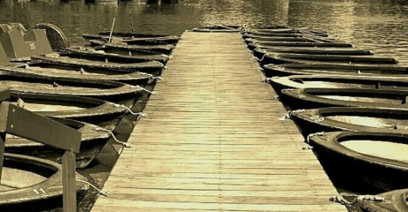 Muelle en otoño - José Graiño - Foto - junio 2015