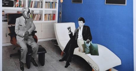 Irene Chelger | Permiso I. Asocie libremente, 2015. 47x57 cm