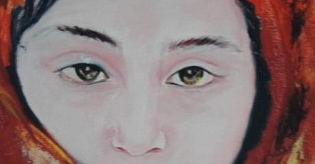 Graciela Graschinsky de Cohan | Serie Diversidades. | Acrílico sobre tela | 20x35 cm, 2008.