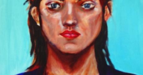 Ella - óleo sobre canvas | 40x45 - Graciela Cohan - año 2013