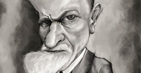 Freud - Ilustración - Juan Perednik – 2015