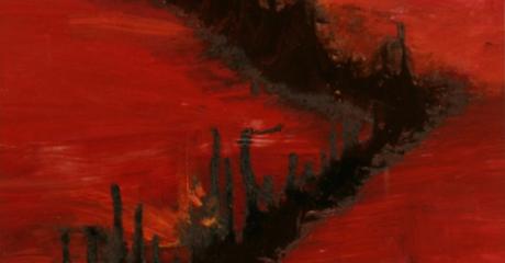 Rojo 4  - 2007 (90 x 100) - Alberto Pecznik