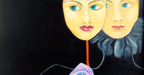 Semblante - técnica mixta sobre canvas | 50x70 - Graciela Cohan - año 2008