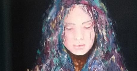 Graciela Graschinsky de Cohan | Serie Diversidades| Acrílico sobre tela | 40x50 cm, 2009.