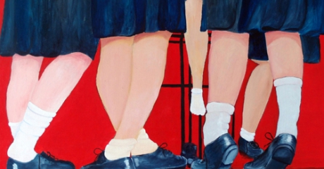 Recreo - óleo sobre canvas | 60x80 – Graciela Cohan - año 2012