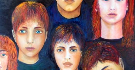 Ellos - óleo sobre canvas | 90x1000 – Graciela Cohan - año 2012