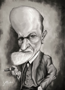 Freud - Ilustración - Juan Perednik - 2015
