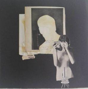 Andrea Burcaizea | Punto Sala | Collage sobre papel | 2019, 20x20 cm