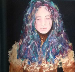Graciela Graschinsky de Cohan | Serie Diversidades | Acrìlico sobre tela | 2009, 40 x 50 cm