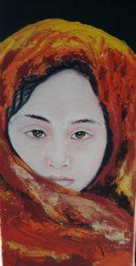 Graciela Graschinsky de Cohan | Serie Diversidades | Acrílico sobre tela | 2008, 20 x 35 cm